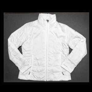 Columbia Omni-Heat white quilted puffer jacket